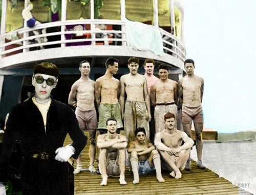Edith Head Men's Swimwear Line